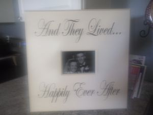 Picture frame. Oak river woodworking. for Sale in Fairland, IN