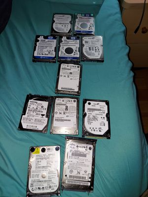 11 laptop/notebook hdd for Sale in Los Angeles, CA