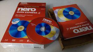 Nero dvd cd burning program for Sale in Monsey, NY