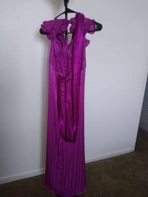 Used Purple Satin Dress Party Birthday Wedding for Sale in IND CRK VLG, FL