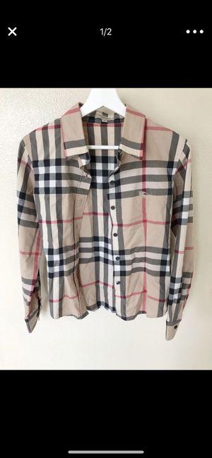 Burberry Women's shirt for Sale in Corona, CA