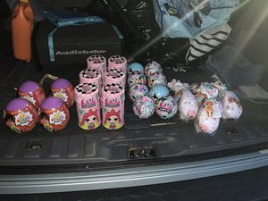 Lol surprise, Ryan's surprise eggs (mini), baby born surprise for Sale in Washington, DC