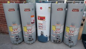 40 gallon Water heaters in excellent condition for Sale in San Bernardino, CA