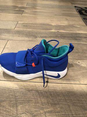 "Nike PG 2.5 Racer Basketball Shoes ""Blue White Green"" BQ8452-401 Men's 11.5 Paul George for Sale in Long Beach, CA"