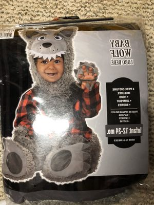 Baby wolf costume 12-24M for Sale in Philadelphia, PA