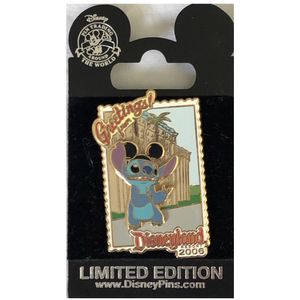 DLR Postcard greetings from disneyland stitch Disney pin for Sale in Irvine, CA