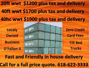 Used Storage Containers for Sale in O'Fallon, IL