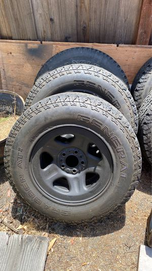 "15"" rims and tires. for Sale in San Ramon, CA"