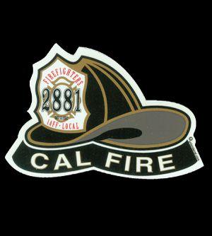 CAL FIRE Department Rear Window Sticker for Sale in Rialto, CA