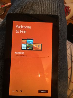 Amazon fire tablet comes with charger for Sale in Forest Park, IL