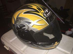 Hjc cs-10 motorcycle helmet size medium for Sale in Normal, IL