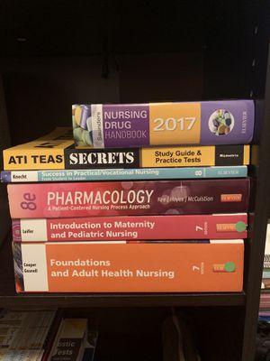 LVN textbooks and ATI TEAS for Sale in San Antonio, TX