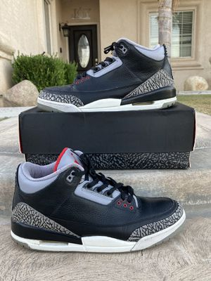 Jordan 3 Retro Black Cement CDP (2008) for Sale in Bakersfield, CA