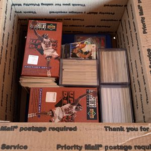 Large Box Of 90's Sports Cards for Sale in Glendale, AZ