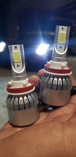 Led Headlights Free Pair Of Led License Plate Lights 💡 for Sale in Ontario, CA