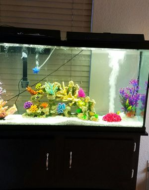 Fish tank with stand **60 Gallons** for Sale in Chandler, AZ