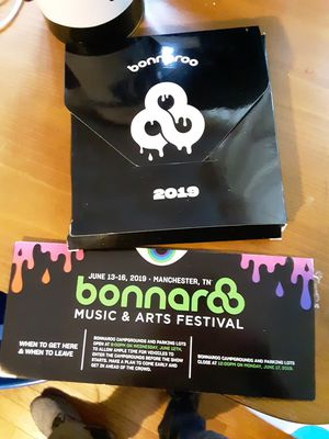 Bonnaroo 4 day GA wristband for Sale in Zanesville, OH
