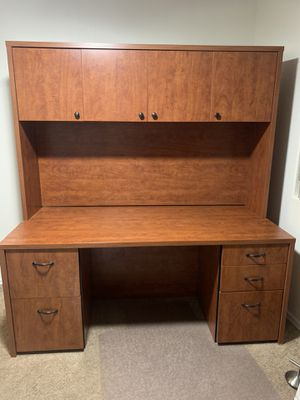Brown Office Desk for Sale in Peoria, AZ