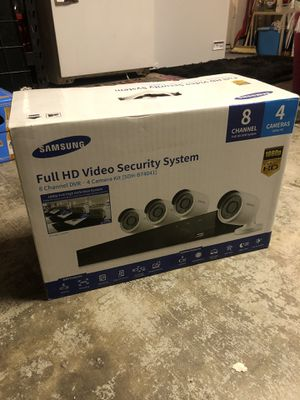 Samsung security camera system for Sale in Moreno Valley, CA