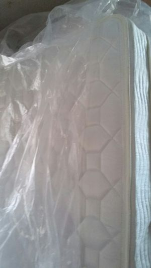 Expensive Eurotop Twin size Mattress. Warehouse stored comes in plastic. for Sale in Mountain Brook, AL