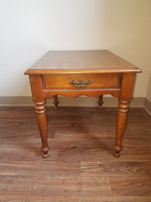 WOODEN END TABLE for Sale in Wichita, KS