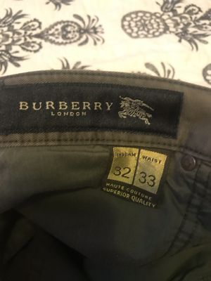 burberry original 32 mens for Sale in Redwood City, CA