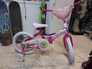 16in Disney princess girls bike by Huffy for Sale in Bartow, FL