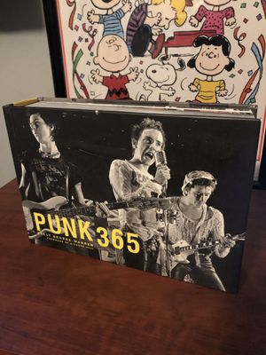 Punk 365 Hard Cover Photography Book for Sale in San Diego, CA