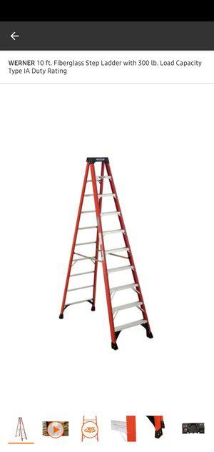 10ft ladder for Sale in Las Vegas, NV