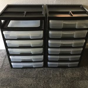 Plastic Drawers for Sale in Houston, TX