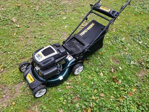 Yard machine lawn mower with bag electric start for Sale in Levittown, PA