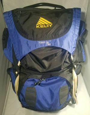 Kelty Yukon External Frame LG 3500 Backpack Camping Hiking Blue for Sale in Austin, TX