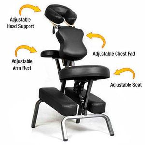 NEW Portable Tattoo/Spa/Massage Chair w/ Leather Pad & Free Carry Case for Sale in Centreville, VA