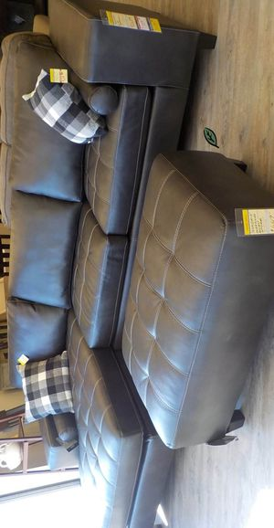 🍻$39 Down Payment 💥 Nokomis Charcoal LAF Sectional for Sale in Jessup, MD