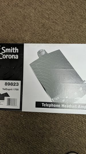 Telephone Headset Amplifier for Sale in Orlando, FL