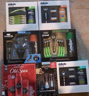 Mens razor gift sets for Sale in Glendora, CA