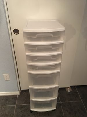 7 Drawer Plastic Storage on Wheels for Sale in Peoria, AZ