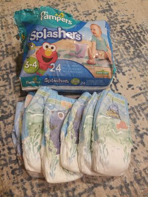 Pampers Little Swimmers Diapers 27 New size 3-4 small for Sale in San Ramon, CA