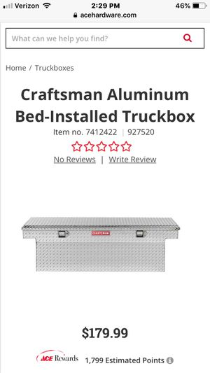 Truck box for bed for Sale in Smyrna, TN