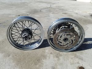 2006 Harley Davidson Street Glide spoke rims for Sale in Los Angeles, CA