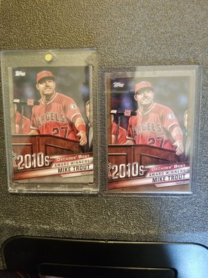 Mike Trout cards for Sale in Mechanicsburg, PA