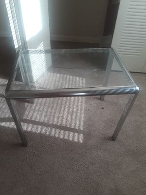Glass end table for Sale in St. Louis, MO