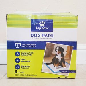 Top Paw® Dog Pads 48 Count For $8. for Sale in Hayward, CA