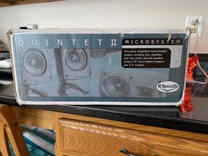 Klipsch Quintet II Speaker System for Sale in Bowie, MD