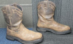 Mens ARIAT Workhog Wellington Waterproof Composite Toe Work Boots sz 9.5 for Sale in Haines City, FL