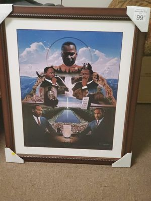 Martin Luther King Framed Art for Sale in Suitland, MD