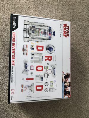 Little Bits Star Wars Droid Inventor Kit for Sale in Aldie, VA