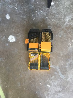 Drill bit set for Sale in Morrisville, PA