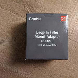 Canon Drop-In Filter Mount Adapter EF-EOS R With Variable ND for Sale in Saratoga, CA