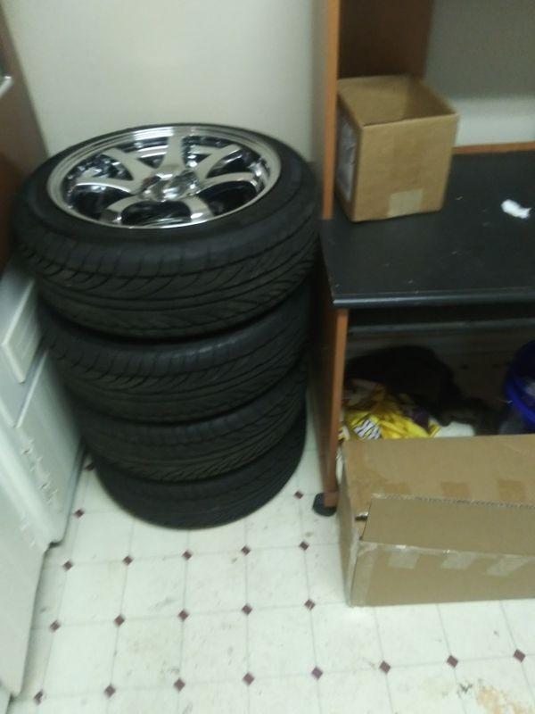 750rims tires 4lug unverl